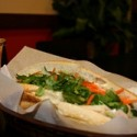 The bunh mi is a classic Vietnamese sandwich (seen here with a Boba drink). Photos: Dennis Yumul