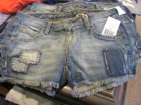 Artisan De Luxe jean shorts for women ($135).