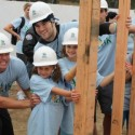 "Trevor Donor from 90210 with some of the Hollywood Kids for Habitat team. Second girl from left is Joey King from ""Ramona & Beezus"" and will be seen in the upcoming ""Dark Knight."" Photo courtesy Habitat for Humanity"