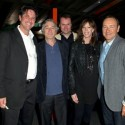 "(L-R) Producer Brad Koepenick, Tribeca Film Festival Co-founder Robert De Niro, director Alex Rotaru, Tribeca Film Festival Co-founder Jane Rosenthal and actor Kevin Spacey attend the premiere of ""Shakespeare High"" during the 2011 Tribeca Film Festival at SVA Theater on April 24, 2011 in New York City. (April 23, 2011 - Photo by Dario Cantatore/Getty Images North America)"