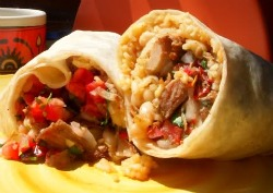 """Say """"ROLY"""" and get 1/2 off burritos at Hugo's Taco's every Wednesday in August from 7p.m.-10 p.m. Photo: Hugo's Tacos"""