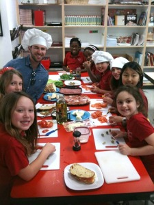 Kids can take a free cooking class this Saturday with chef Eric Hurwitz. Photo: Whole Foods Market