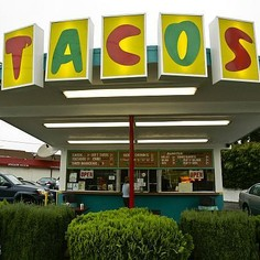 The 50 year old Googie style taco joint is in trouble.