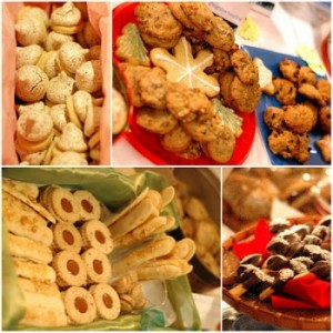 Holiday cookies for cheerful gifting or entertaining.