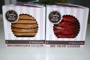 Cookies for a Koz is now in Home Goods!