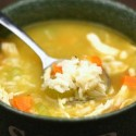 Chicken soup can be made many ways.