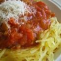Use spaghetti squash instead of pasta.