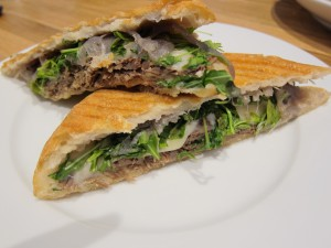 Short Rib panini is on the new menu at Cafe Aldente.