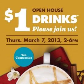 $1 specialty drinks on Thursday!