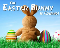 Meet the Easter Bunny at the Galleria on Saturday