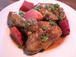 "Birdsong chicken is a ""signature"" dish."