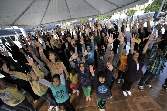 Alvin Ailey inspired RockaYourSoul event for all ages at Grand Park this weekend.