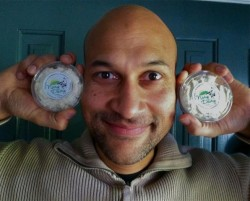 "Keegan-Michael Key from Comedy Central's ""Key & Peele"" says he always has Nary Dairy in his fridge."