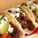 Tacos at Loteria Grill.