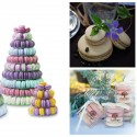 Les Macarons Duverger is now available online for gift packs, buffets, party favors and even wedding cakes!