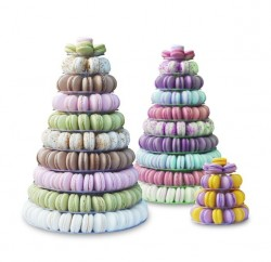 Duverger Macarons can even be ordered as a wedding cake.